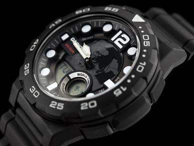 Watch- Casio Telememo AEQ100W-1A -ORIGINAL
