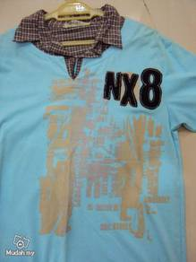 Nx8 Shorts sleeve shirts