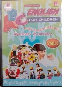 DVD ABC English For Children Vol.1