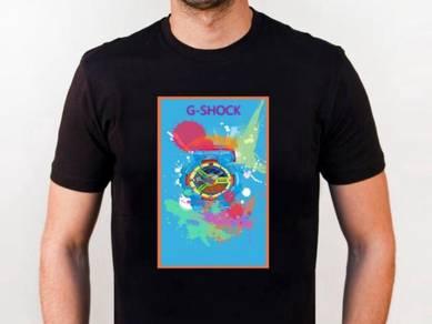 Baju T-Shirt G-SHOCK 1 NSQ208 siap poslaju