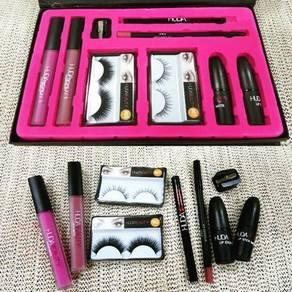 Readystock women huda beuaty set make up