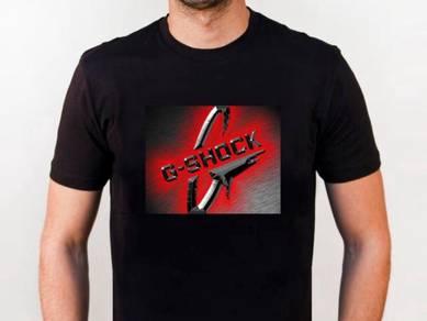 Baju T-Shirt G-SHOCK 2 NSQ209 siap poslaju