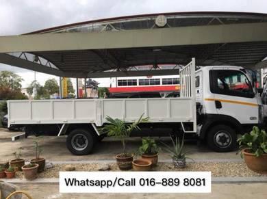 TATA Ultra 512 7,500KG 17ft Steel Cargo