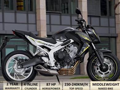 Honda cb650F SE Free Ekzos Akra(Apply Online)