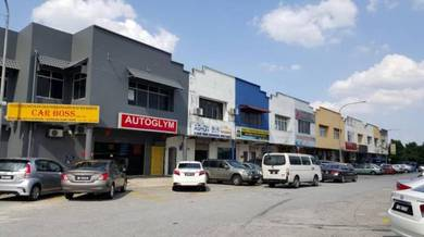 Subang USJ 1.5 Storey Corner Shop For Sale High Return