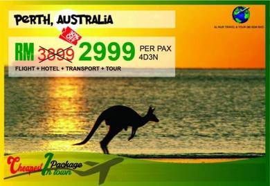 Perth cheapest package in town
