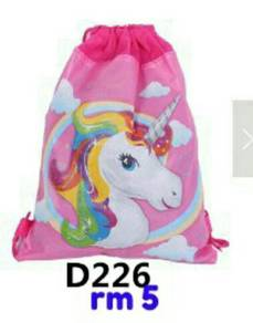 Drawstring dan backpack for kids