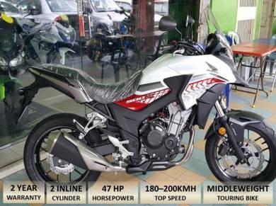 HONDA CB500X Free Ekzos Akra(Apply Online)