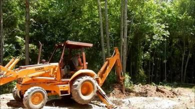 Top bersih kawasan hutan kebun & Pagar semua tanah
