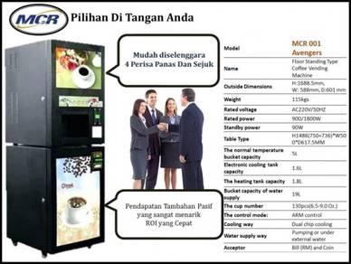 Vending Mesin Kopi Coffee Lokasi Tersedia Pasif