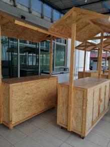 Pine Wood Stall