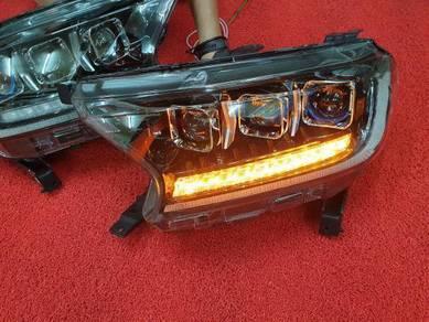 Ford ranger t8 t7 led headlamp head lamp light A
