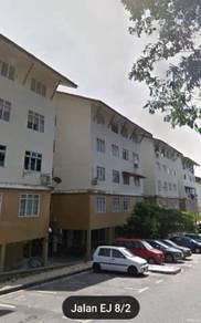 Ehsan Jaya Flat 100% Loan/Low Deposit/Johor Jaya/Desa Cemerlang