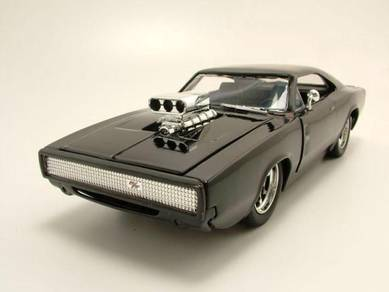 1/24 Dom's 70s Dodge Charger R/T fast & furious 7