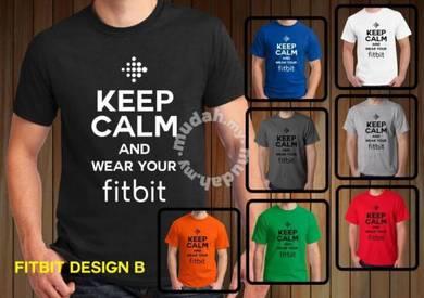 Baju T-Shirt FITBIT II NSQ212 siap poslaju