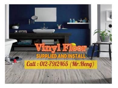 PVC Vinyl Floor In Excellent Install 90ML