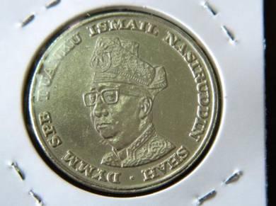 RM1 Coin 10TH Anniversary Of Bank Negara Malaysia