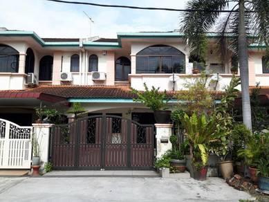 Double storey house at Taman Syabas