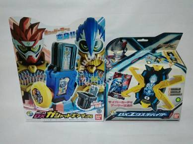 DX Kamen Rider Ex-Aid And Ultraman X Henshin Items