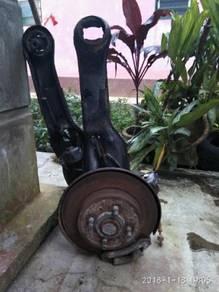 Disc brake belakang satria/wira 1.8