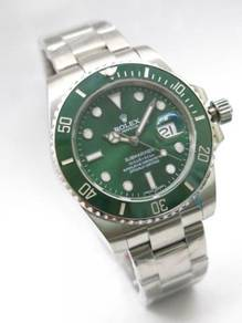 Gm t master watch (green)