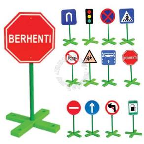 Traffic Sign Boards (12 Types)