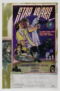 Star Wars (1977) #1293 cult movie poster