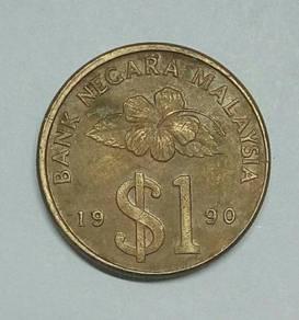 1 RiNGGIT MALAYSIA 1990 - Wc321