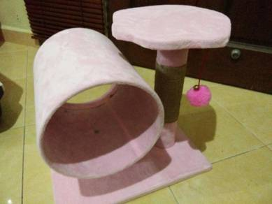 Pokok Kucing - Play Bed Scratcher House