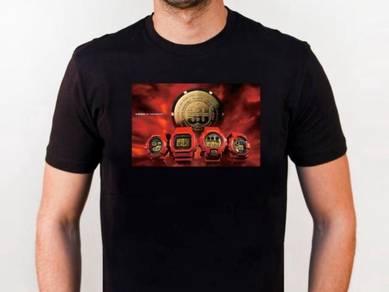 Baju T-Shirt G-SHOCK 7 NSQ219 siap poslaju