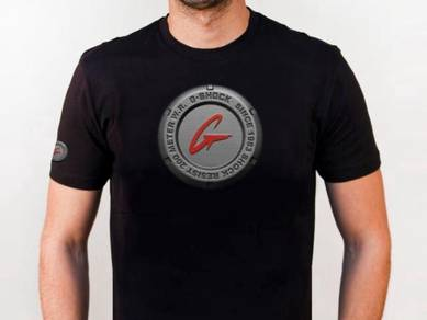 Baju T-Shirt G-SHOCK 6 NSQ218 siap poslaju