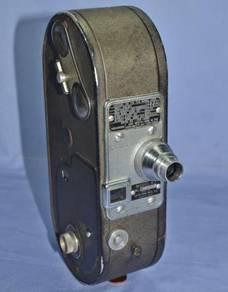 Antique keystone movie camera
