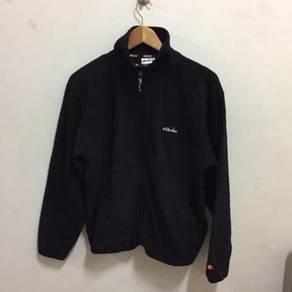 Ellesse Fleece Jacket Size L Black