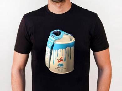 Baju T-Shirt G-SHOCK 9 NSQ221 siap poslaju