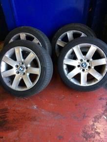 Bmw alloy wheels tyres. 1 series. 3 series. 17�