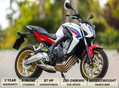 HONDA CB650F Free Ekzos Akra(Apply Online)