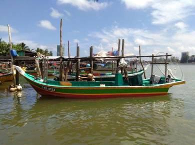 Bot Fibre Pantai Barat Buatan Kedah utk Dijual