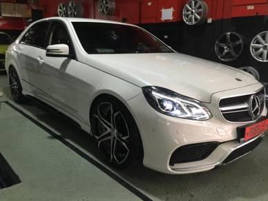 Mercedes W212 facelift AMG E63 conversion