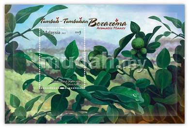 Miniature Sheet Aromatic Plant Malaysia 2012