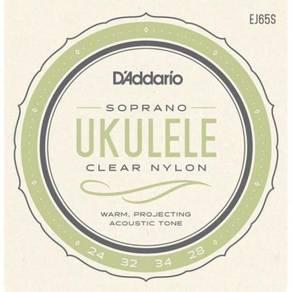 D'Addario EJ65S, Soprano Ukulele Set