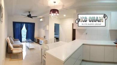 [BLOCK B] Tri Pinnacle FULLY FURNISHED & RENO 2 CARPARK Tanjung Tokong
