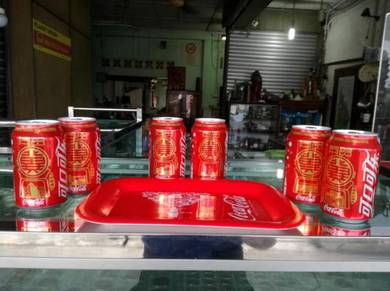 1 Set Coca Cola Can and tray