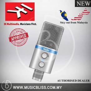 IK Multimedia iRig Mic Studio Condenser Mic-Silver