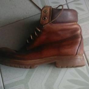 Kasut Leather Timberland original