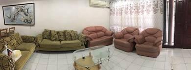 Tabuan Jaya Double Storey House For Rent