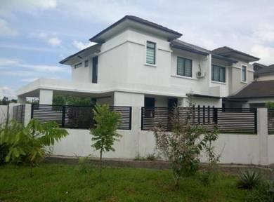 Tabuan Park double story semi detached house for sale