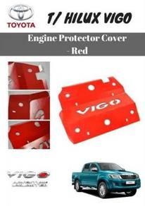 Toyota hilux vigo skid plate red engine cover 2015