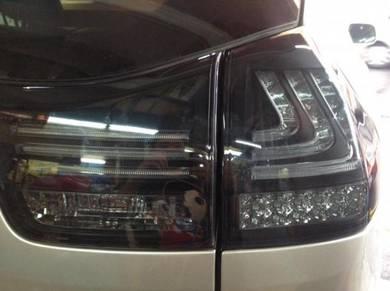 Toyota harrier 04 to 07 tail lamp light bar NEW SE