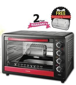 Khind 68L Electric Oven OT6805 + Free Rotisserie