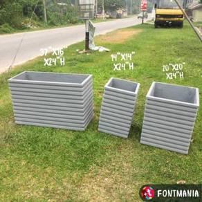 GRC Planter Box ~Konkrit Pasu Bunga